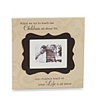 Children Cartouche Caption Frame