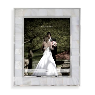 Mother of Pearl Wedding 8-Inch x 10-Inch Frame