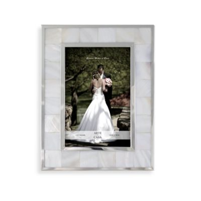Mother of Pearl Wedding 5-Inch x 7-Inch Frame