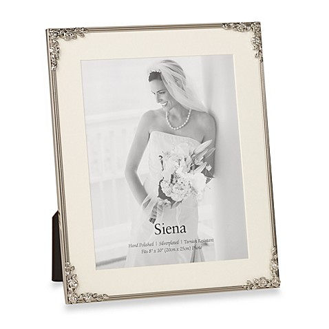 Siena Rose Corners 8-Inch x 10-Inch Photo Frame