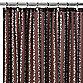 Watershed® Single Solution™ 2-in-1 Bubbles on a String Fabric Shower Curtain in Coffee