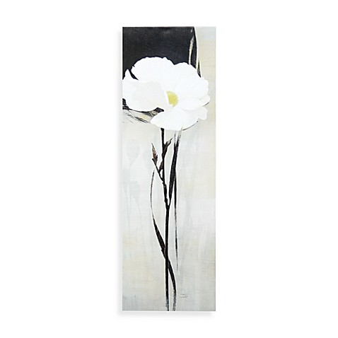 Blanc/Ivoire I Printed Canvas Wall Art