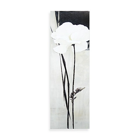 Blanc/Ivoire II Printed Canvas Wall Art