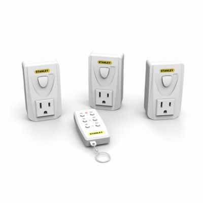 Stanley Indoor Wireless Remote System with Single Transmitter