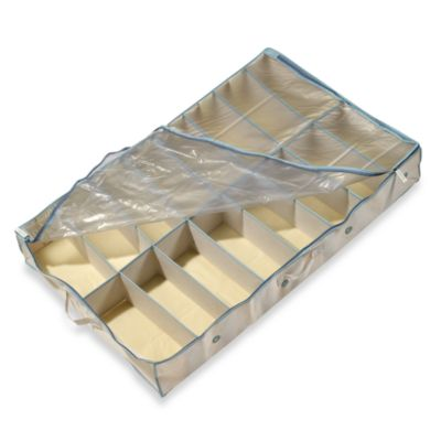 Real Simple® Underbed Shoe Organizer