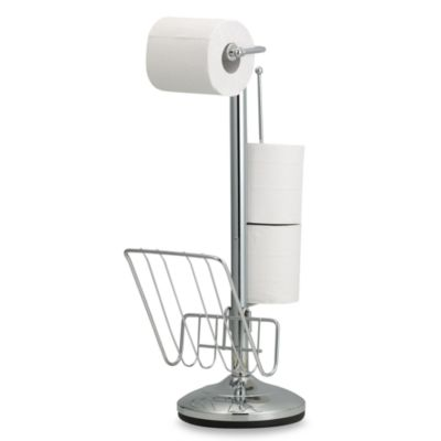 Toilet Tissue Stand and Reserve Holder