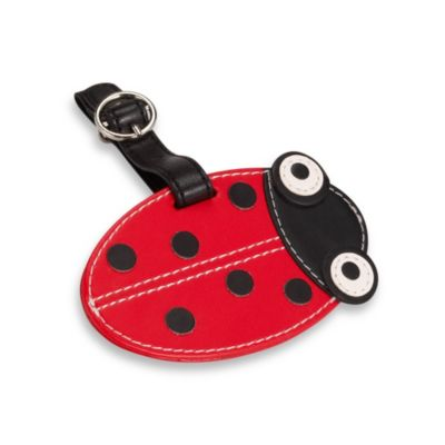 Lady Bug Luggage Tag