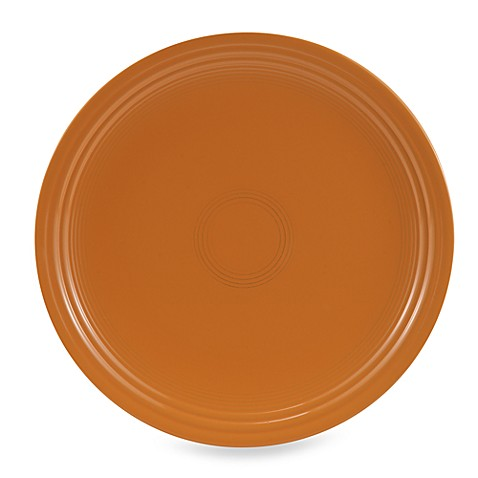 Fiesta® Charger Plate in Tangerine