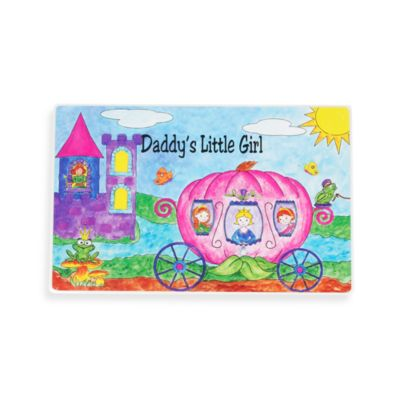 Swibco® Daddy's Little Girl Princesses Placemat