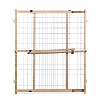 Extra Wide 50-Inch Wire Mesh Gate