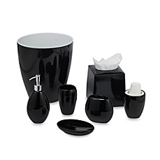 Wamsutta Elements Black Bath Ensemble