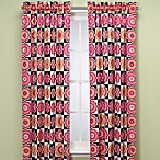 Flower Power 84-Inch Window Panel