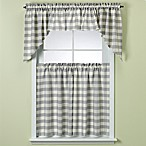 Rowan Blue Plaid Window Curtain Tiers