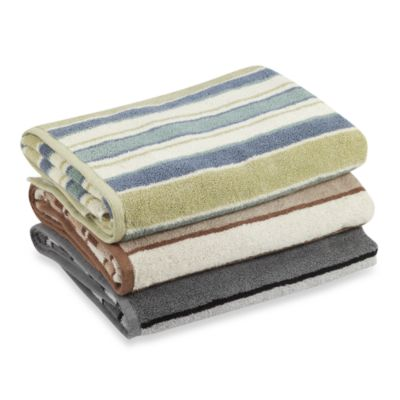 Duet Stripe Hand Towel