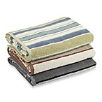 Duet Stripe Bath Towel Collection, 100% Cotton