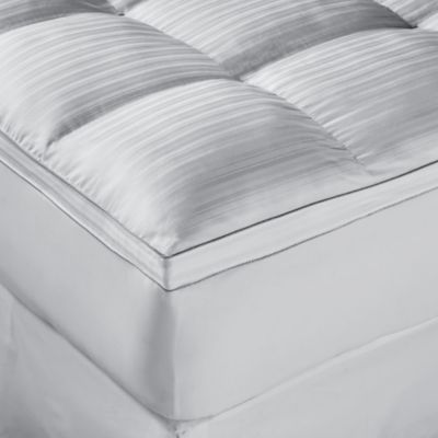 Stearns & Foster® White Covington Plush Luxe Down King Alternative Fiberbed
