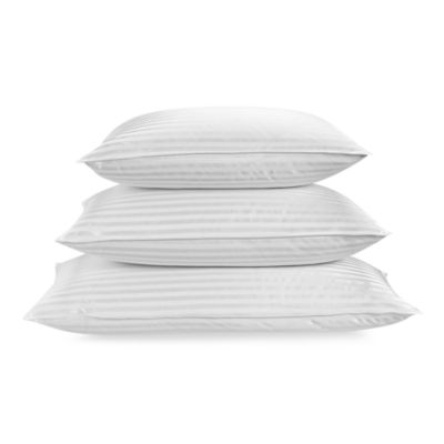 Palais Royale™ King Down Back/Stomach Sleeper Pillow in White