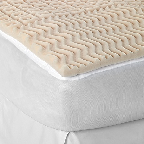 Sleep Zone 5 Zone Egg Crate Foam Mattress Topper Bed