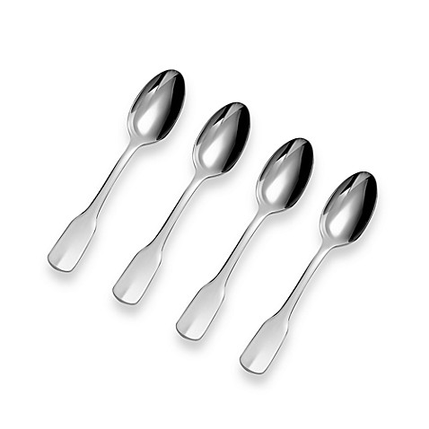 Ginkgo Alsace Demitasse Spoons (Set of 4)