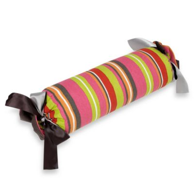 Glenna Jean Kirby Stripe Roll Pillow