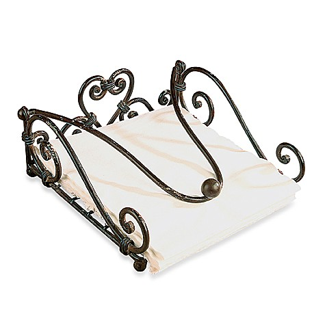 Metal Square Napkin Holder