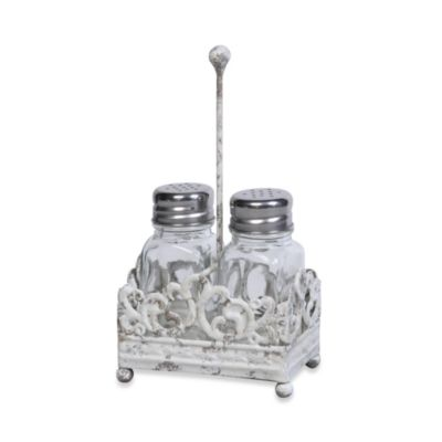 Metallic Salt n Pepper Shakers