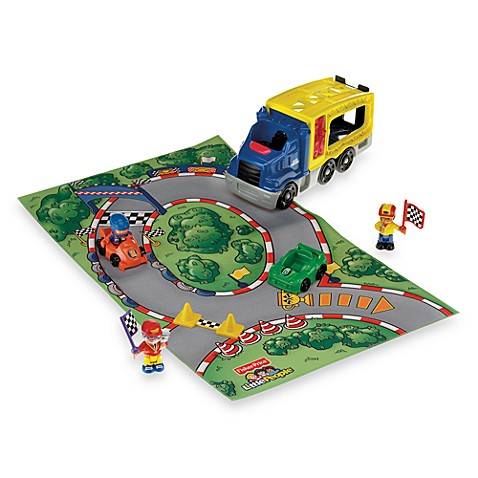 Fisher-Price® Little People Race Car Playset