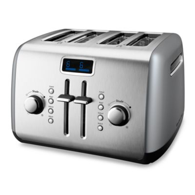 KitchenAid® 4-Slice Digital Toaster in Silver