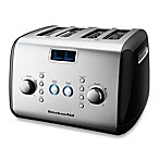 KitchenAid® 4-Slice Digital Motorized Toaster in Black