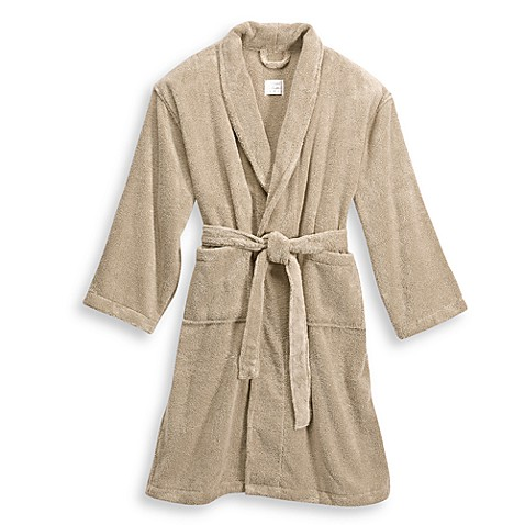London Luxury Hotel Collection Zero Twist Unisex Bathrobe in Sand