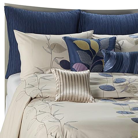 Serena Blue Duvet Cover Bed Bath Amp Beyond