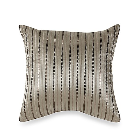 "Serena Blue 12"" Square Toss Pillow"