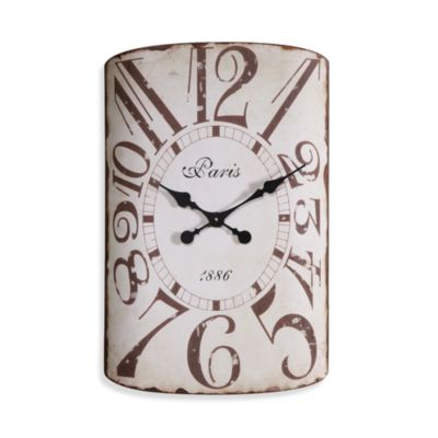 Creative Co-Op Modern Metal 24-Inch Wall Clock