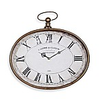 Pocket Watch Horizontal Wall Clock