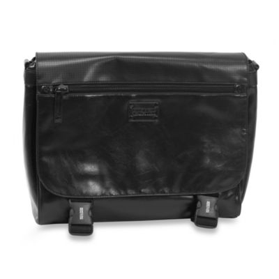 Kenneth Cole Reaction Va-Mess-a Hudgens Black Messenger Bag