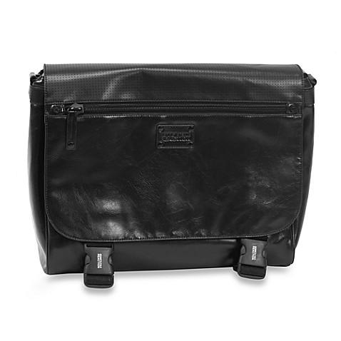 buy kenneth cole reaction va mess a hudgens black messenger bag from bed bath beyond. Black Bedroom Furniture Sets. Home Design Ideas
