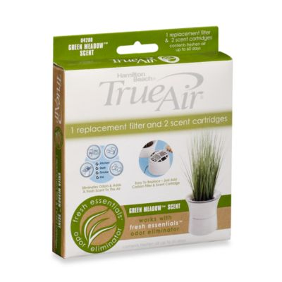 Hamilton Beach® TrueAir® Fresh Essentials™ Odor Eliminator Replacement Filter and Cartridge