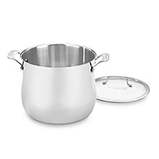 Cuisinart® Contour™ Stainless Steel 12-Quart Stockpot