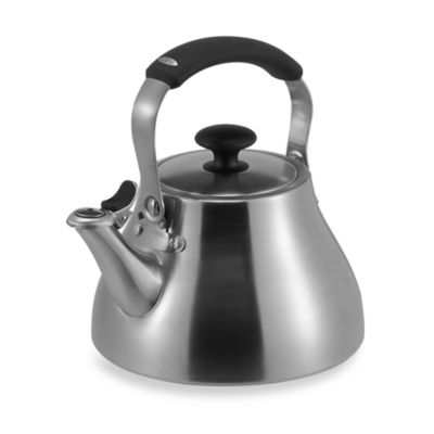 Good Grips® Brushed Stainless Steel Tea Kettle
