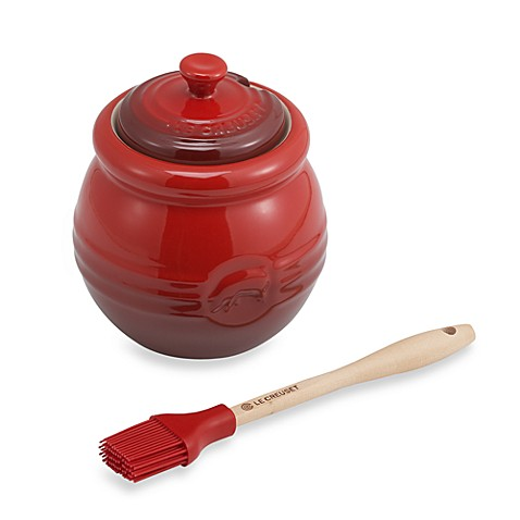 Le Creuset® Barbecue Sauce Jar with Basting Brush