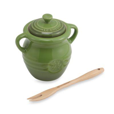 Le Creuset® 10-Ounce Olive Jar