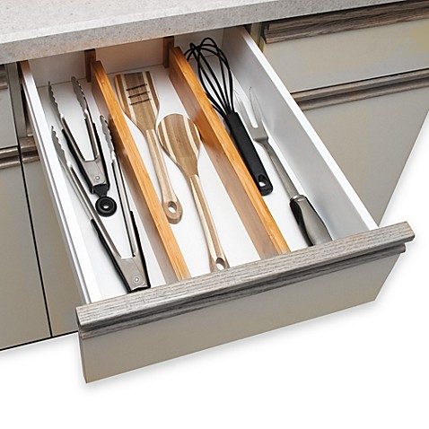 lipper international bamboo drawer dividers set of 2