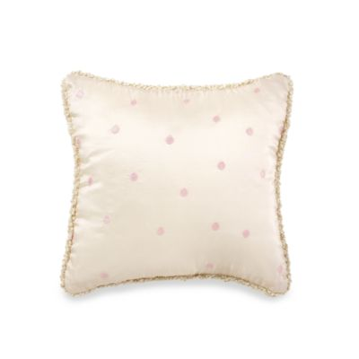 Glenna Jean Juliette Dot Pink Pillow I