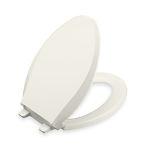 Kohler® Cachet® Quiet-Close™ Quick Release™ Elongated Toilet Seat in Almond