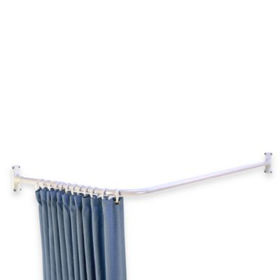 L-Shaped Corner Shower Rod