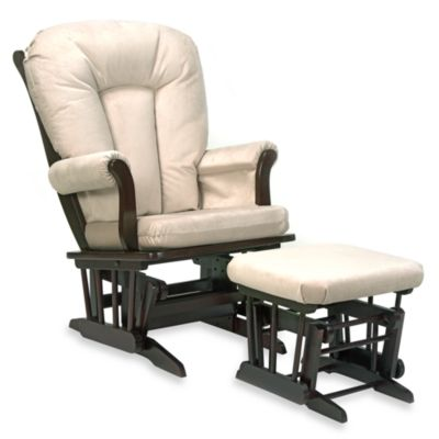Dutailier Ultramotion Sleigh Glider and Ottoman