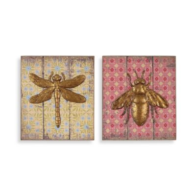 Bug Plaques (Set of 2)