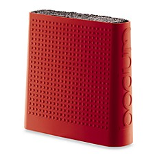 Bodum® Bistro Knife Storage Block - Red