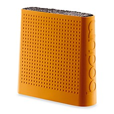 Bodum® Bistro Knife Storage Block - Orange
