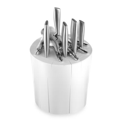 Five Finger Fillet® Knife Holder Set in White